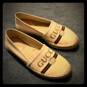 Authentic Gucci espadrilles